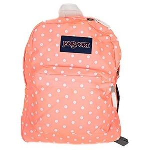 Jansport | Superbreak Coral Peaches/W Polka Dot